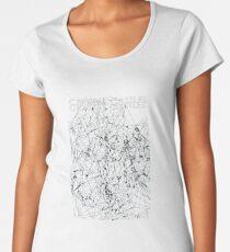 Crystal Castles Crimewave Shirt inverted must print on black shirt or item Women's Premium T-Shirt