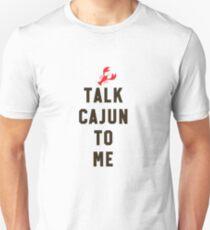 Talk Cajun To Me Fun Louisiana Crawfish Boil Crew Gift Unisex T-Shirt