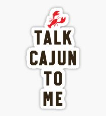 94b8bd6c5b Talk Cajun To Me Fun Louisiana Crawfish Boil Crew Gift Sticker