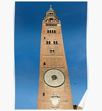 The beautiful cathedral of cremona Poster