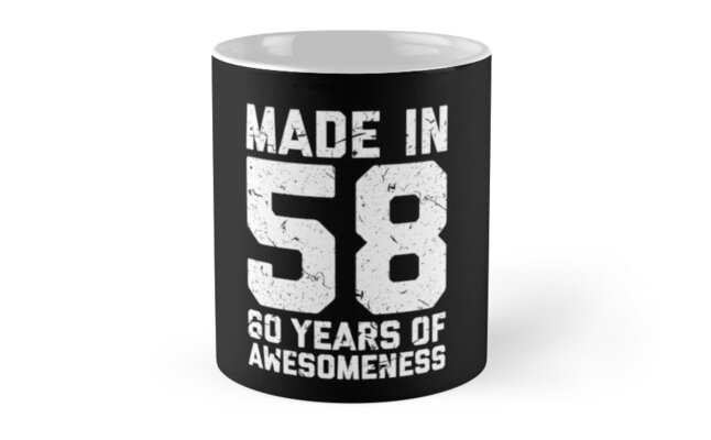 60th Birthday Gift Adult Age 60 Year Old Men Women By Matt L