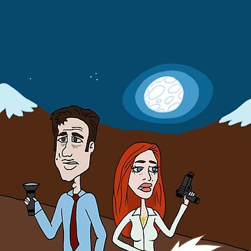 """Um, Scully."" ""...Yeah, Mulder?"" ""This one goes to 11."" by CattapanComics"