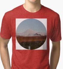 Mt Ruapehu Tri-blend T-Shirt