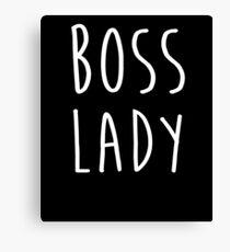 Süße Boss Lady T-Shirts Frau Boss Lady Shirt Leinwanddruck
