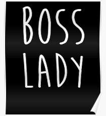 Süße Boss Lady T-Shirts Frau Boss Lady Shirt Poster