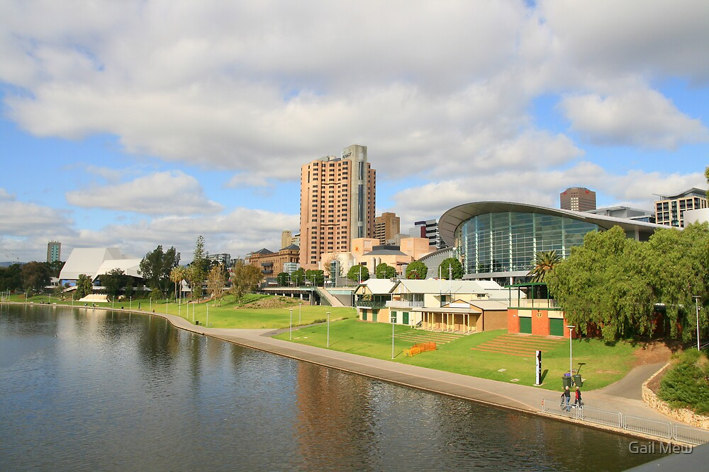 """""""The River Torrens, Adelaide"""" by Gail Mew"""
