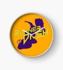 RUNNER DASH - Mike Pasuko Clock