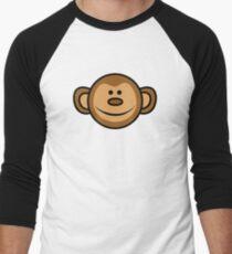 Cheeky Monkey Men's Baseball ¾ T-Shirt