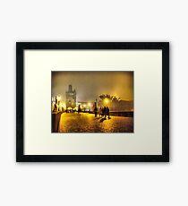 Karluv Most Framed Print
