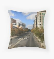 """North Terrace"" Throw Pillow"