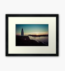 The Baltimore Beacon Framed Print
