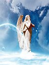 Heavenly Angel by Marie Sharp