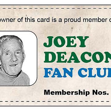 Joey's Fan Club by Kirwindesign