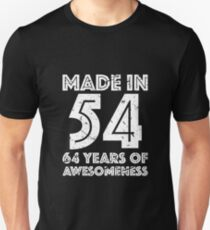 64th Birthday Gift Adult Age 64 Year Old Men Women Unisex T Shirt
