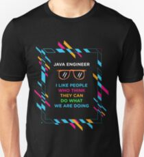JAVA ENGINEER Unisex T-Shirt