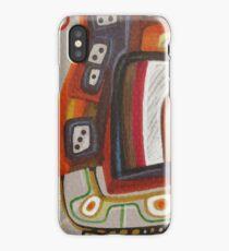 Funky curls iPhone Case/Skin