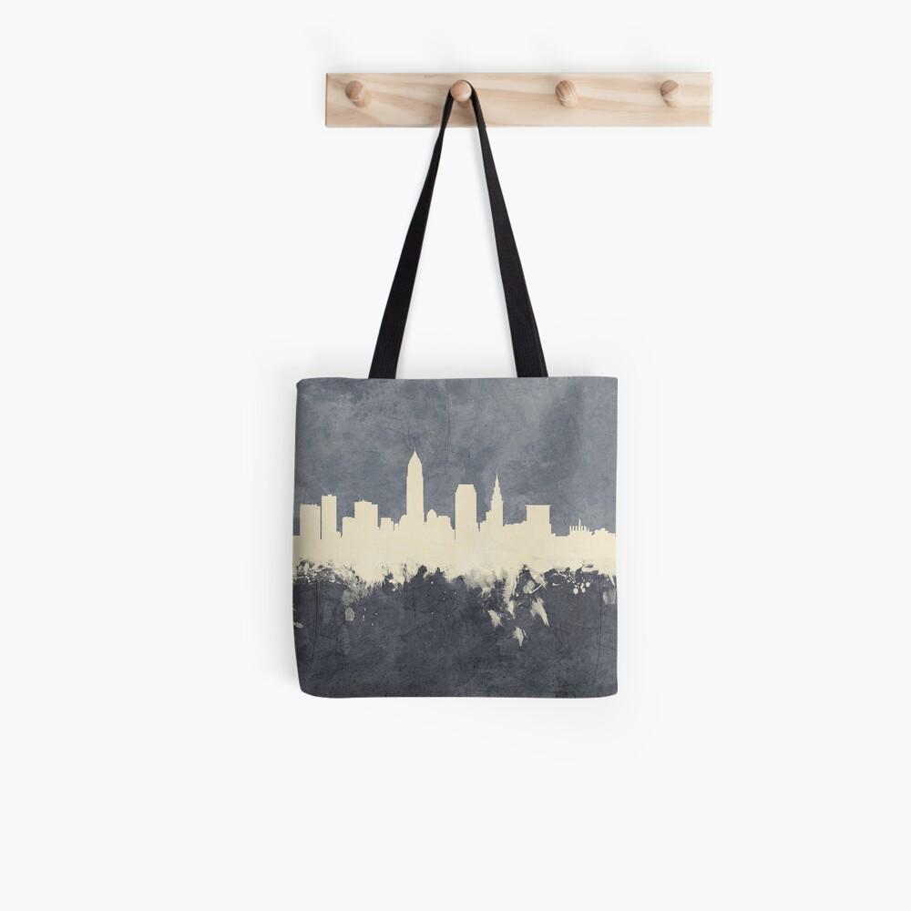 Cleveland Ohio Skyline Stofftasche