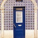 Blue Door Tiles Lisbon by for91days