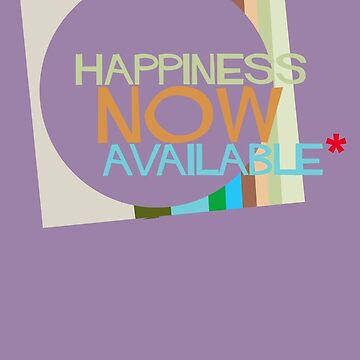 Happiness now available by alphaville