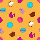 French macarons by Evgenia Chuvardina