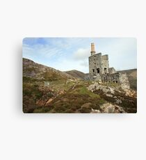 Allihies copper mines Canvas Print