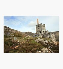 Allihies copper mines Photographic Print
