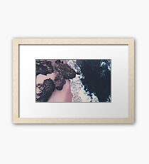 sea of love Framed Print