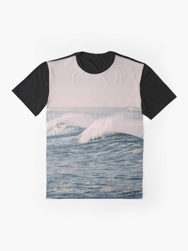 Alternate view of stormy waters Graphic T-Shirt