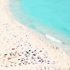 Strand Liebe Quadrat von Ingrid Beddoes