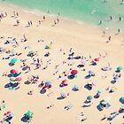 beach love - Nazare by Ingrid Beddoes