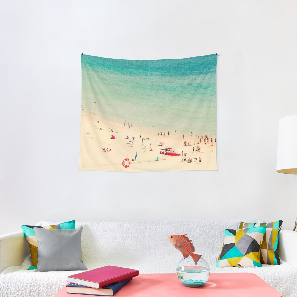 beach people Tapestry