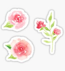 Lovely flower stickers Sticker