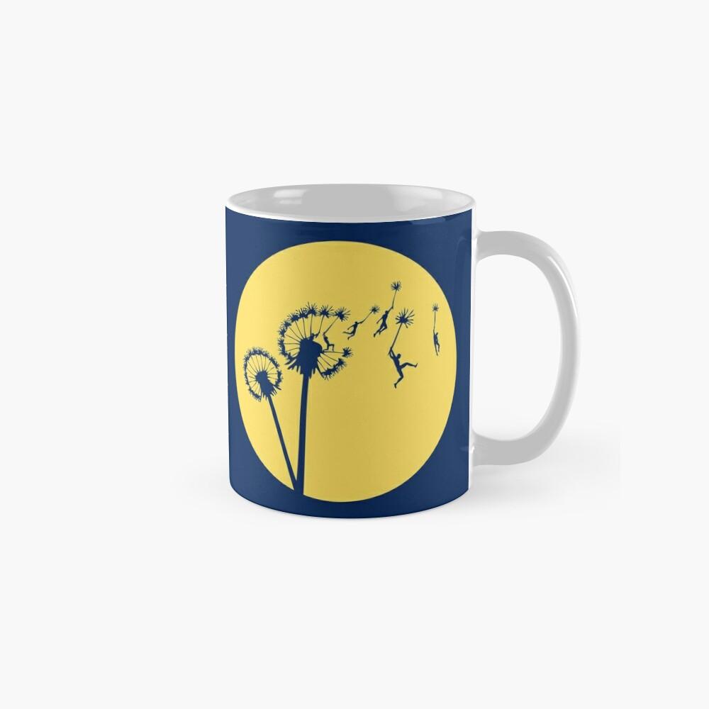 Dandylion Flight - Reversed Circular Mug
