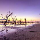 Pamamaroo Sunset by Peter Hocking