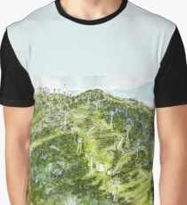 Perisher in summer - Snowy Mountains, NSW, Aus. Graphic T-Shirt