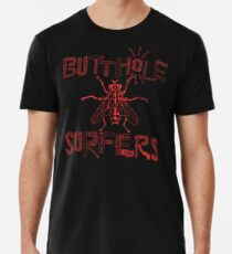 Butthole Surfers Fly (rot) Männer Premium T-Shirts
