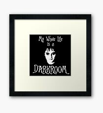 My Whole Life is a Darkroom - Lydia Deetz Framed Print