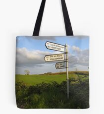 County Clare signposts Tote Bag