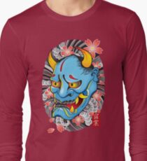 Hanya Demon Mask Long Sleeve T-Shirt