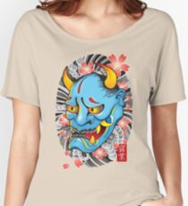 Hanya Demon Mask Women's Relaxed Fit T-Shirt
