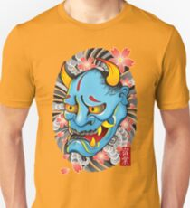Hanya Demon Mask Slim Fit T-Shirt