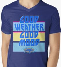 GOOD WEATHER - GOOD MOOD Men's V-Neck T-Shirt
