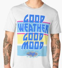 GOOD WEATHER - GOOD MOOD Männer Premium T-Shirts