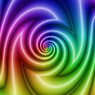 Abstract colorful turbulence by blackhalt