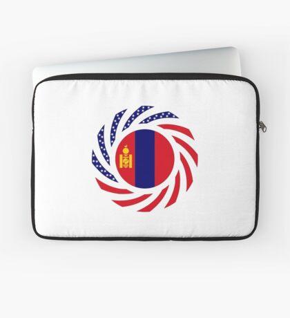 Mongolian American Multinational Patriot Flag Series Laptop Sleeve