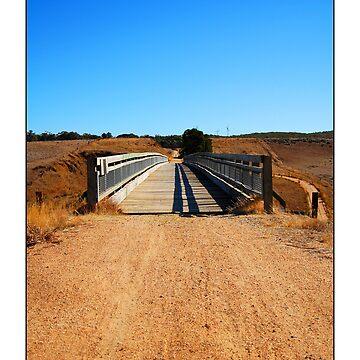 Old Train Bridge by krisb22