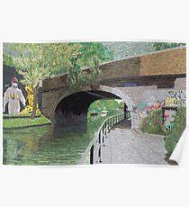 Regent's Canal (London, England) : Street Art Poster