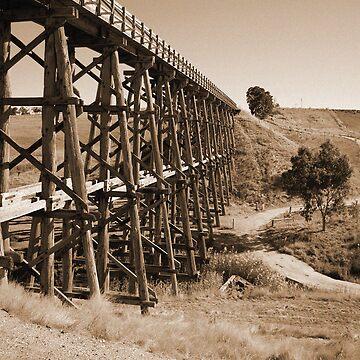Long Train Bridge by krisb22