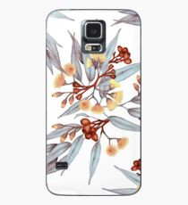 Gumnuts and Eucalyptus in Rust, Grey and Golden Case/Skin for Samsung Galaxy
