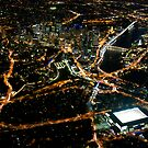 Brisbane CBD from 2500ft by Newsworthy